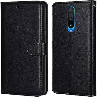 Laybomo Carcasa para Xiaomi Redmi K30 Tapa Funda Cuero Estilo-Sencillo Monederos Billetera Bolsa Magnética Protector Silic...