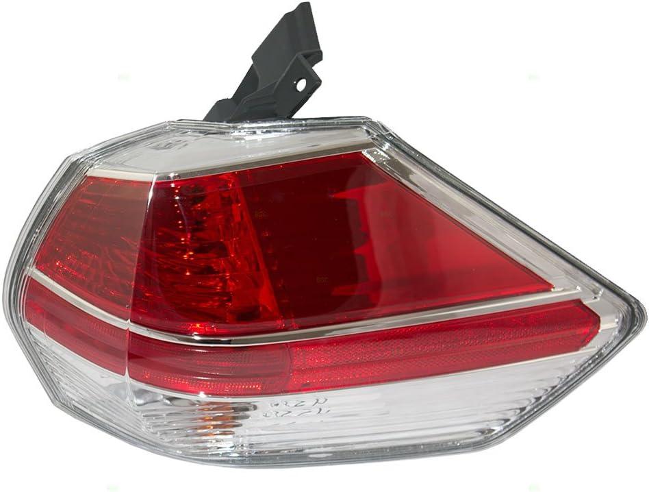 新作からSALEアイテム等お得な商品満載 Brock Replacement Passengers Taillight Tail M Quarter 超歓迎された Lamp Panel