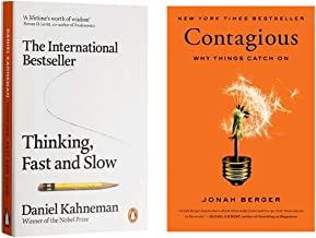 Thinking, Fast and Slow : The phenomenal international bestseller + Contagious