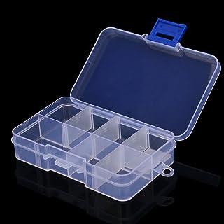 Plastic 15 Slots Adjustable Jewelry Storage Box Case Craft Organizer Bead Home /& Garden Housekeeping /& Organizers for Halloween Onsale