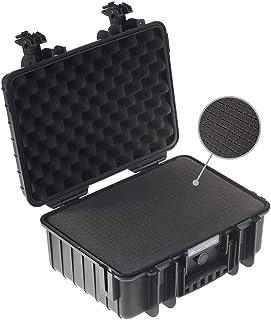 B&W transportkoffer, outdoor type 4000, zwart met kubusschuim, waterdicht conform IP67-certificering, stofdicht, onbreekba...