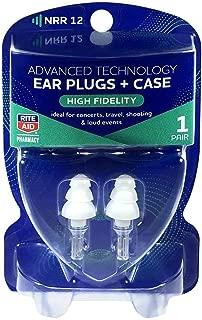 Rite Aid High Fidelity Musicians Ear Plugs - 1 Pair