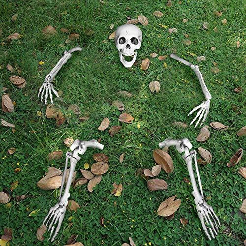 JOYIN Estacas de Esqueleto-Romper-el-Suelo de Tamaño Natural para Decoraciones de Jardín de Halloween