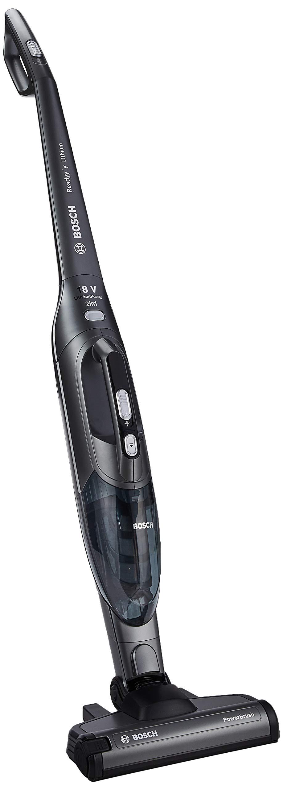 Bosch BBHL21841 0.4L Negro aspiradora de pie y escoba eléctrica - Aspiradora escoba (Sin bolsa, Negro, 0,4 L, Secar, Batería, 18 V): Amazon.es: Hogar