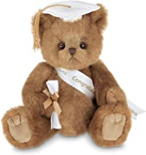 Bearington Smarty Class of 2019 Graduation Plush Stuffed Animal Teddy Bear in White Cap, 10 inches