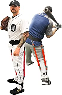 Velopro Baseball Training Harness | Resistance Hitting & Pitching Trainer Adds 4-6MPH of Batting Power or Pitch Velocity | Improves Swing and Pitching Mechanics | Get Instant Feedback With Each Rep