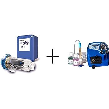 Gre SCGPH100 – Clorador Salino + Controlador de pH, para Piscinas ...