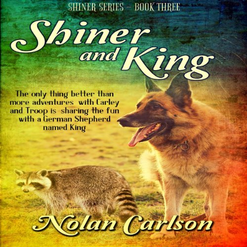 Shiner and King audiobook cover art