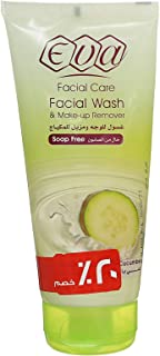Eva Facial Wash & Make-Up Remover with Cucumber and Yoghurt for Oily Skin- 150 ml