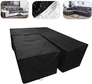 Swing Cover Garden Sedia a Dondolo per Esterni Impermeabile Antipioggia per mobili-115x190cm WCCCW Telo Copri Tavolo Quadrato Sedie