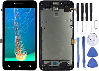 Mobile accessories LCD Screen and Digitizer Full Assembly with Frame for Lenovo Vibe B A2016 A2016a40 A2016b30 (Black) (Co...