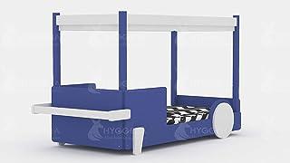 Hyggelia Mon lit cabane Lit en Bois Merkury pour Enfants, pour Adolescents, Accessoires en MDF, Meubles de Chambre à Couch...