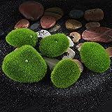 8QzJs1Tg Fabulous Aquarium Decoration5 Pcs Artificial Green Grass Moss Foam Stone Micro Landscape Terrariums Decor