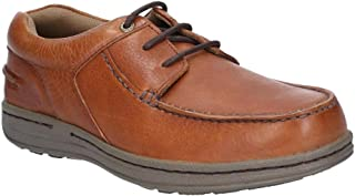 Hush Puppies Mens Winston Victory Leather Moccasin Shoe