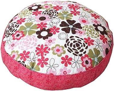 "Dragon Troops Floor Pillow Thicken Cushion Japanese Futon Round Seat Cushion 21.6"" x 21.6"",A9"