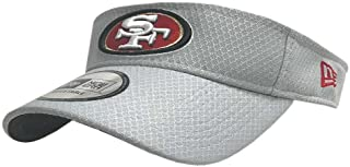 3c64060e1db New Era 2018 NFL San Francisco 49ers Training Camp Visor Hat Cap Golf  11766189