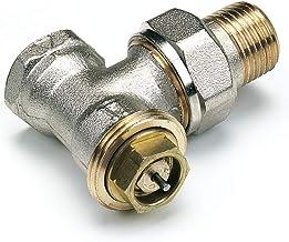 Reina Lot de 2 robinets de radiateur pour radiateur Chrom/é 15 mm