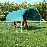 Zoom IMG-1 vidaxl tenda per bestiame tettoia