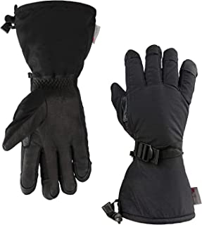 OZERO -40 ℉ Winter Gloves Cold Proof Ski Mittens for Men and Women with Thermal 3M Thinsulate Insulation and 5-inch Long Sleeve for Skiing/Snowmobile/Shoveling Snow/Work