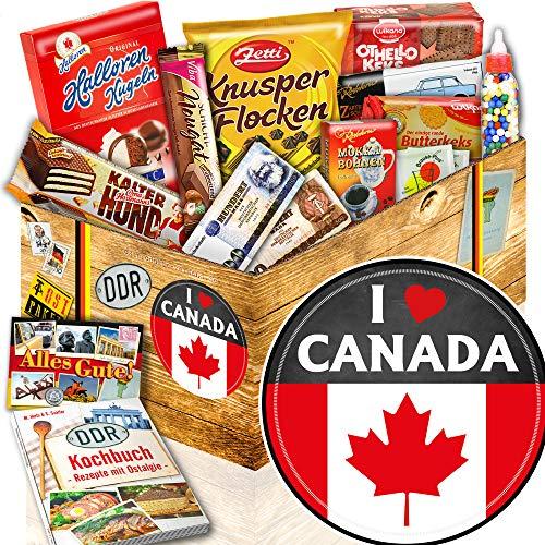 I love Canada / Süßigkeiten Ostbox / Geschenk Kanadafan