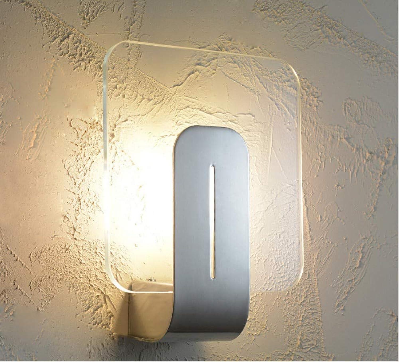 TYTLYA Innenbeleuchtung Wandlampe Deko Bett Schlafzimmer Wohnzimmer Flur Studie Led Nachtlicht 5W Warmwei Lichtgre 18  22Cm