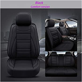 Black Alcantara-Blue Thread RedlineGoods Door armrest Covers Rear Compatible with Honda Civic 2006-11
