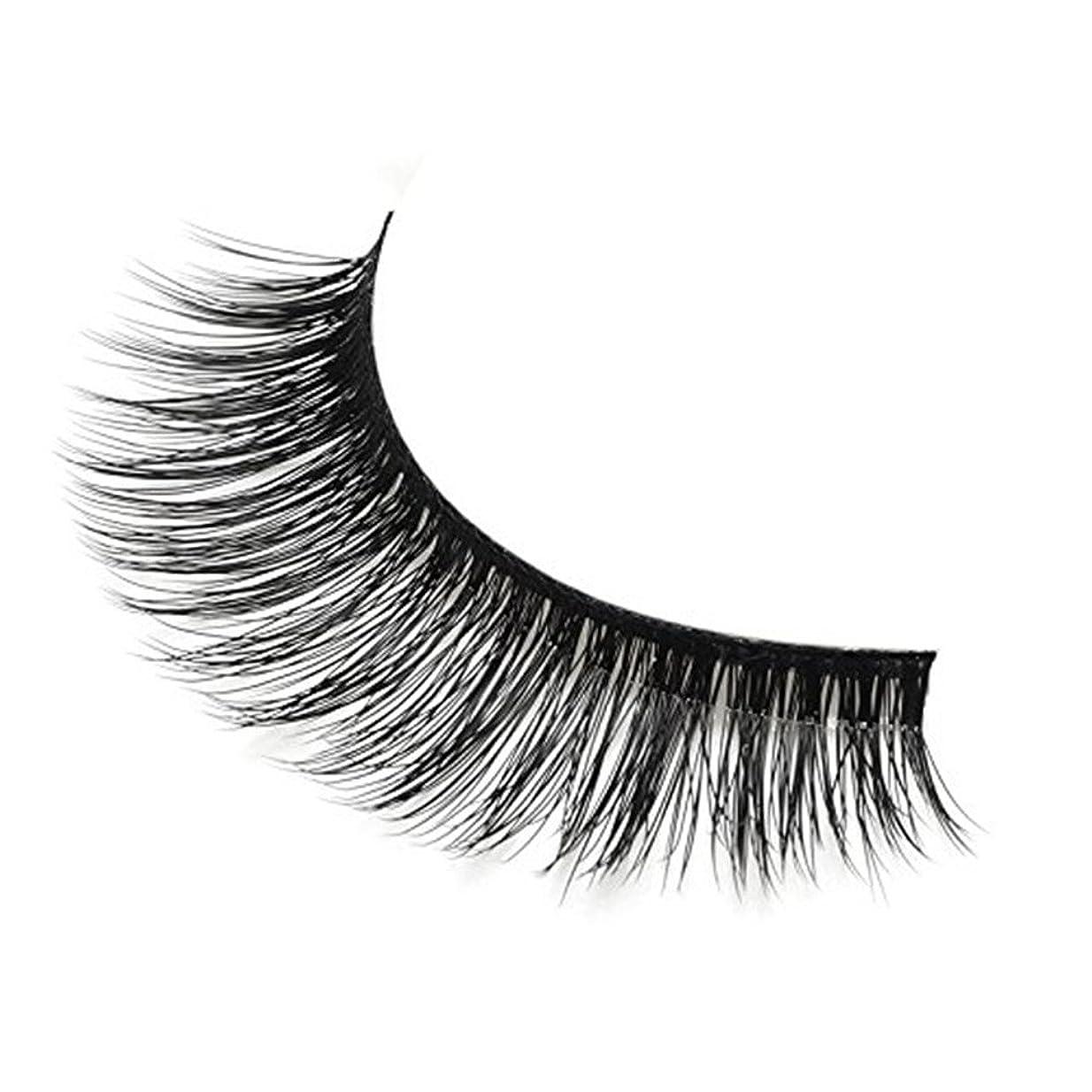 下手工夫するうなる3Dのまつげ水の脇の下はまつ毛の日常の化粧とパーティーメイクのための自然な非刺激性の柔らかい再使用可能な (1 BOX)