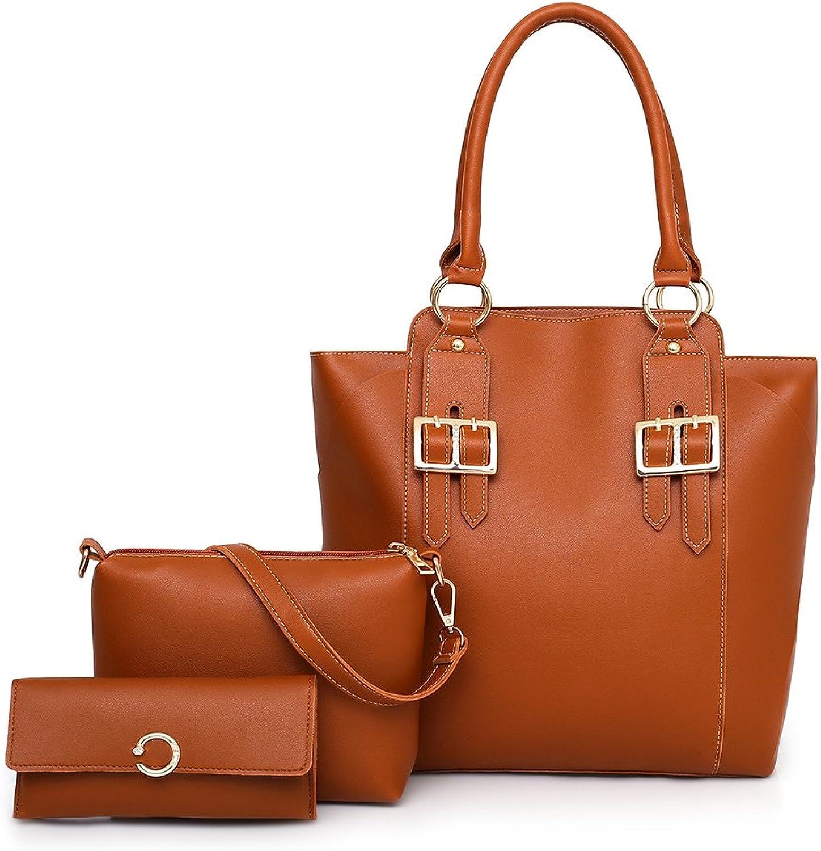 ZhangHongJ,Damenhandtasche ZhangHongJ,Damenhandtasche ZhangHongJ,Damenhandtasche einzelner Schulter-Geldbörsen-Anzug(Farbe BRAUN) B07P9VDWXW 86dd42