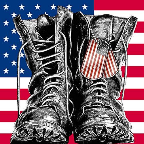 DIY 5D Diamant Gemälde Patriotische Militär Kits für Erwachsene Full Drill Strass Stickerei Bilder Kreuzstich Kunst Handwerk für Zimmer Zuhause Wanddekoration Farbe0