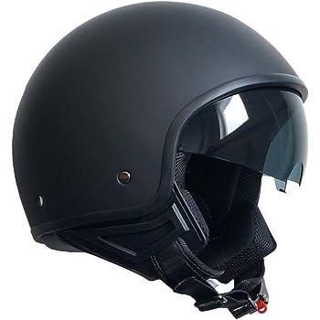 Viper Helmets Motorradhelm Rsv06 Matt Black Star 59 60 Cm Auto