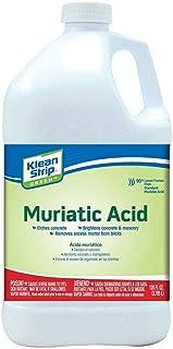 Klean-Strip Green GKGM75006 Muriatic Acid, 1-Gallon