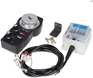 UCONTRO General CNC 5 Axis Wireless Electronic MPG Pendant Manual Pulse Generator DC 5V 100PPR, Open Collector Circuit 200, Support SIEMENS,MITSUBISHI, FANUC,FAGOR, NUM,LNC, FUTURE,SYNTE CNC (GP01)