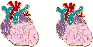 hanreshe Chill Pill Pin Medical Jewelry 2 Pieces Enamel Brooch Pins Set Nurse Doctor Graduation Medical Student Chemistry Brooch