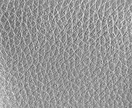 1 METRO de Polipiel para tapizar, manualidades, cojines o forrar objetos. Venta de polipiel por metros. Diseño Foamizada Júpiter Color Plata ancho 140cm