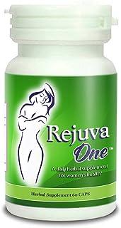 RejuvaOne Vaginal Tightening Pills (60-Capsules) Women's Herbal Supplement | Pelvic Floor, Postpartum Support | Balance Hormones (1 Bottle)