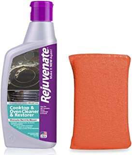 Rejuvenate Glass and Ceramic Cooktop and Oven Cleaner and Restorer – 10 Ounce Oven Cleaner Includes Free Applicator Pad – ...