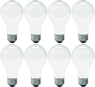 GE 714270019272 66249 Soft White 100 Replacement uses only 72 watts, 1270-Lumen A19 Light Bulb with Medium Base, 8-Pack, 8 Pack, 8