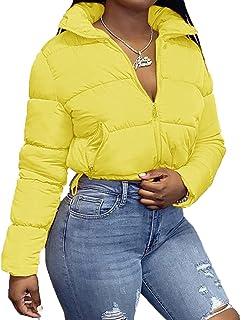 Women's Long Sleeve High Neck lightweight Coat Solid...