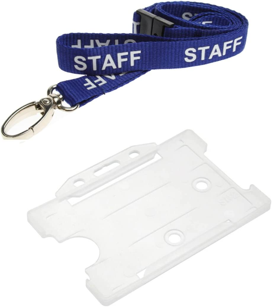 "3//8/""~3//4/"" Plastic Breakaway Safty Buckles Neck Strap Lanyard ID Badge Tag Holder"