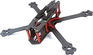 Thriverline 215mm FPV Frame 3K Carbon Fiber Frame 4mm Thickness for FPV Racing Drone like QAV210 QAV250 etc (215mm)