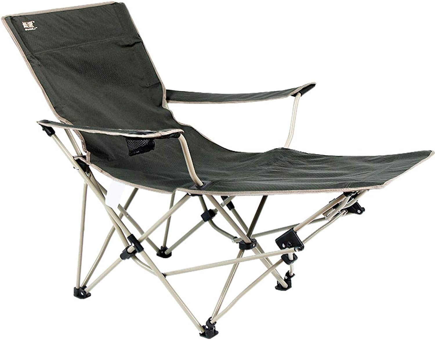 LOO LA Falten Beach Chair Sun Loungers Outdoor Falten Recliner Portable, Support Up bis 102kg