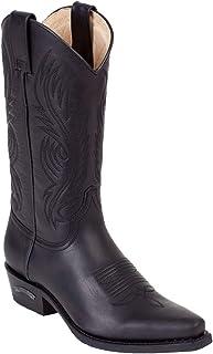 Sendra Boots Bottes de cowboy 2605 en noir avec tire-bottes Roy Dunn's Graisse en cuir et sac de transport Sendra