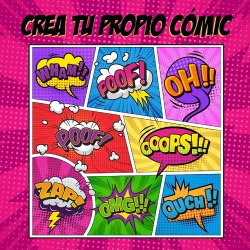 Crea tu propio cómic: 100 plantillas en blanco para adultos,adolescentes y niños - Cómic vacío