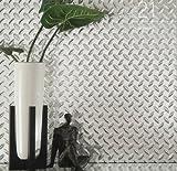 Chrome Diamond Plate Plastic Sheet 24' x 48' x 028