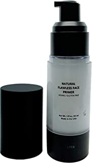 Mom's Secret Natural Flawless Face Makeup Primer, Organic, Vegan, Gluten Free, Non GMO, For All Skin Types, Paraben Free, Cruelty Free, Made in the USA, 1oz