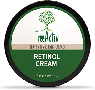 TreeActiv Retinol Cream, Anti-Aging Day & Night Cream, Deeply Hydrates and Targets Wrinkles & Fine Lines, Retinol, Hyaluronic Acid, Hydrovance, Provitamin B5, Jojoba Oil, Carrot Cells (2 fl oz)