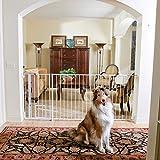 Carlson Maxi Extra Tall Walk-Thru Pet Gate in White by Carlson