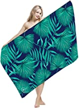 """FLORICA Towel Beach Towel Microfiber Towel Quick Drying Lightweight Ultra Absorbent Bath Towel with Breathable Mesh Bag 60 * 30""""/152 * 76cm (M1704)"""