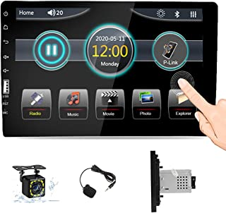 $109 » Single Din Car Stereo in Dash Multimedia Player 9 Inch Touch Screen Car Audio Radio Bluetooth for Hans-Free Calls FM Radio...