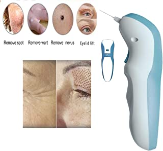 Portable Rechargeable Skin Tag Removal Pen Multifunction Plasma Pen Skin Care Beauty Tool with 3 Needles for Remover Freck...